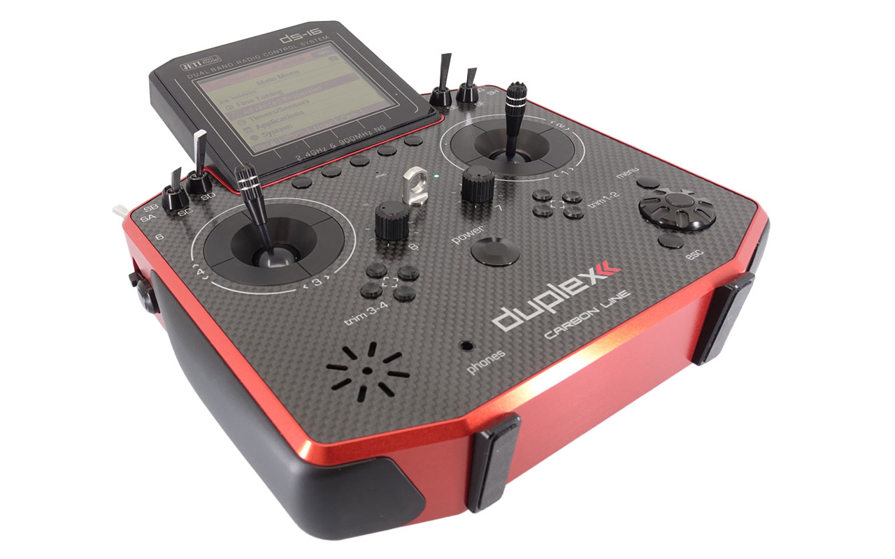 Jeti DS 16II Carbon Line Red Multimode